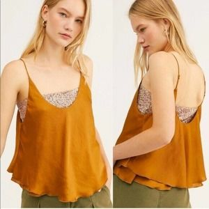 Free People Turn It On Camisole Size Small NWT